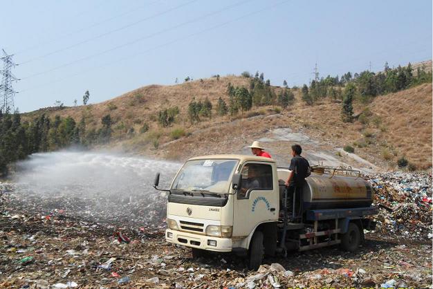 微生物菌除臭剂对垃圾填埋场除臭处理