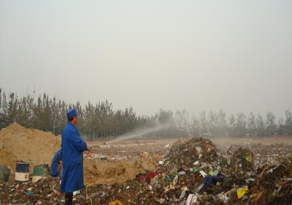 微生物菌除臭剂垃圾场除臭处理